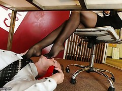 connu secretaire chanel preston baise jeune collegue de bureau
