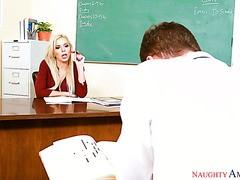 Chaud professeur étudiant porno