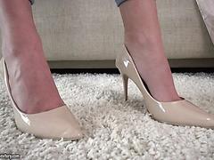 Fétichisme des pieds gicler